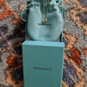 Tiffany Authentic Bean necklace